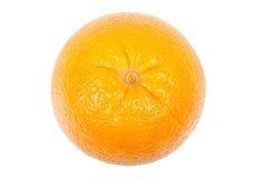 橙色顶视图 免版税库存照片