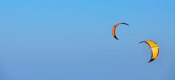 橙色风筝 库存照片