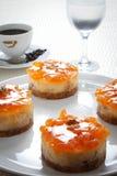 橙色饼 免版税图库摄影