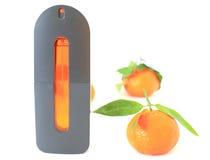 橙色香水 免版税库存图片