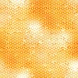 橙色马赛克-不规则的样式 库存图片