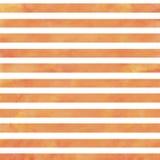 橙色水彩条纹 免版税库存图片