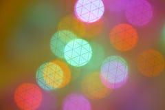 橙色紫色绿色迷离背景-储蓄照片 免版税库存图片