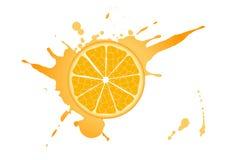 橙色 向量例证