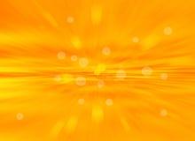 橙色bokeh摘要光background.blur背景。 免版税库存照片