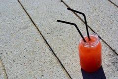 橙色mojito 免版税图库摄影