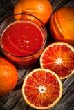 橙色tarot 免版税库存照片