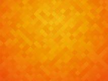橙黄色瓦片 库存例证