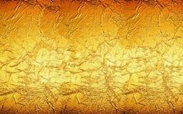 橙黄色金背景纹理 免版税库存图片