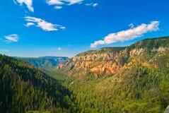 橡木峡谷,新墨西哥 图库摄影
