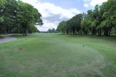 橡树乡村俱乐部高尔夫球场在爱德蒙俄克拉何马 免版税库存图片