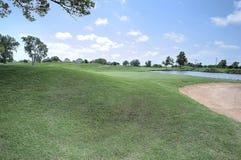 橡树乡村俱乐部高尔夫球场在爱德蒙俄克拉何马 图库摄影