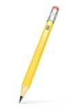 橡皮擦铅笔 皇族释放例证