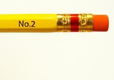 橡皮擦铅笔 库存照片