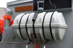 橡皮救生艇 免版税库存图片