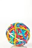 橡皮筋儿球 免版税库存图片