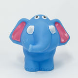 橡胶大象 库存照片