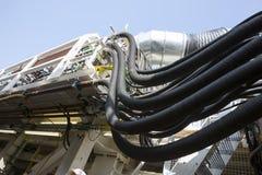 橡胶油水管高压 免版税库存图片