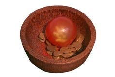 橡胶球和Bekel 免版税库存照片