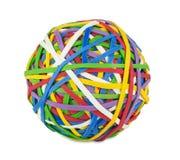 橡胶球 免版税库存照片