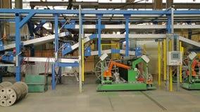 橡胶磁带的准备轮胎生产的 影视素材