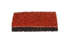 橡胶聚氨酯丙烯酸酯的地板 库存图片