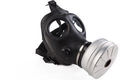 橡胶防毒面具 免版税库存图片