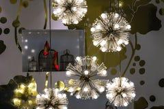 橱窗展售品的装饰 免版税图库摄影