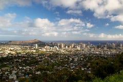 檀香山,奥阿胡岛,夏威夷 库存照片