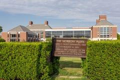 次日密谋和卡尔R 大学的Woese学院  免版税库存图片