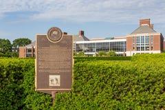 次日密谋和卡尔R 大学的Woese学院  库存图片