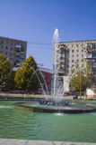 欢乐喷泉 免版税库存图片