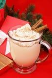 欢乐圣诞节的蛋黄乳 免版税库存图片