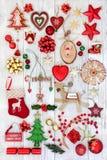 欢乐圣诞节的装饰 免版税库存照片