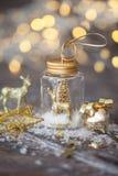 欢乐圣诞节的装饰 免版税库存图片