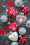 欢乐圣诞节装饰 库存照片