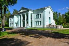 欢乐宫殿Puslovsky在庄园里 免版税库存照片