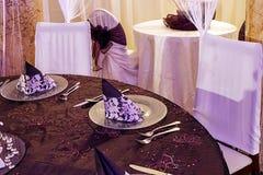 欢乐正餐的- 11排列 免版税库存照片