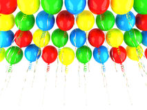 欢乐气球 库存例证