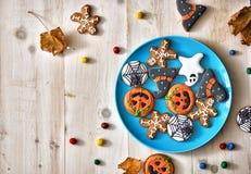 欢乐甜点和曲奇饼 图库摄影