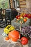 欢乐的秋天 库存照片