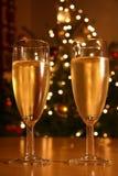 欢乐的香槟 免版税库存图片