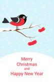 欢乐看板卡的圣诞节 库存图片