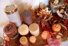 欢乐秋天的装饰 库存图片