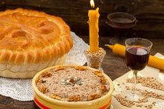 欢乐面包用麦子 库存图片