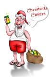 欢呼圣诞节 免版税库存图片