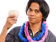 欢呼热带 免版税库存图片