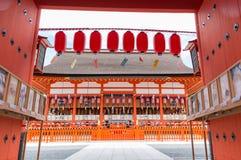 欢迎光临京都 库存照片