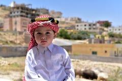 欢迎光临约旦 免版税库存照片