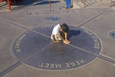 欢迎到亚利桑那标志 免版税库存图片